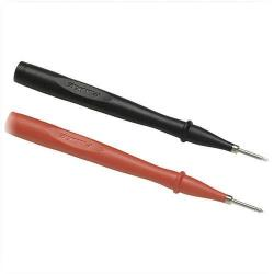 Fluke - FLUKE-TP2 - Slim Reach Test Probes -- One Pair Red, Black Probes - Steel Tips, 2mm Diameter