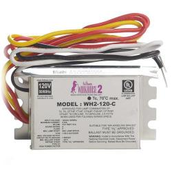 Fulham - WH2-120-C - Fulham Electronic Fluorescent Ballast -- Instant Start - 35W Max Load - (1-2) Lamp - WorkHorse 2 - 120VAC