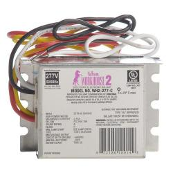 Fulham - WH2-277-C - Fulham Electronic Fluorescent Ballast -- Instant Start - 35W Max Load - (1-2) Lamp - WorkHorse 2 - 277VAC