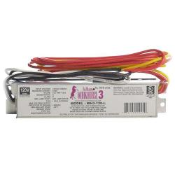 Fulham - WH3-120-L - Fulham Electronic Fluorescent Ballast -- Instant Start - 64W Max Load - (1-2) Lamp - WorkHorse 3 - 120VAC