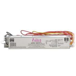 Fulham - WH5-277-L - Fulham Electronic Fluorescent Ballast -- Instant Start - 128 Max Watts - (1-4) Lamp - WorkHorse 5 - 277VAC