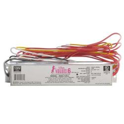 Fulham - WH6-120-L - Fulham Electronic Fluorescent Ballast -- Instant Start - 140W Max Load - (1-4) Lamp - WorkHorse 6 - 120VAC