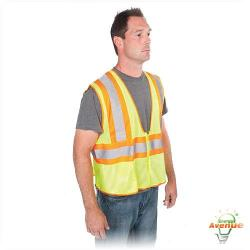 Greenlee - 01761-02L - Vest -- High Visibility - Tradesman 2-Tone - Class 2 - Large/XL