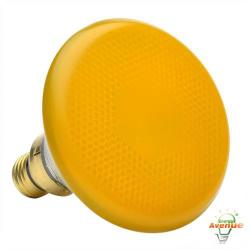 GE 13473 100PAR/Y/85WM6PK - 85W Yellow Colored Incandescent Floodlight