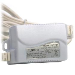 GBL Lighting - 24W DRIVER-CV - 24 Watt LED Driver -- 100-240VAC Input, 12VDC Output - 2 Amp or 24 Watt Power - UL Listed - Includes Plug and 8ft Wire