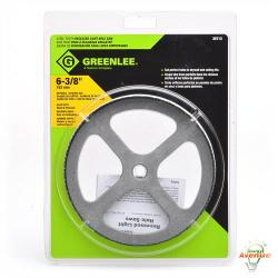GreenLee - 35713 - 6-3/8 Inch Steel Toothed Recessed Light Hole Saw -- 6-3/8 Inch Diameter