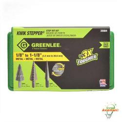 GreenLee - 35884 - Multi Hole Step Drill Set