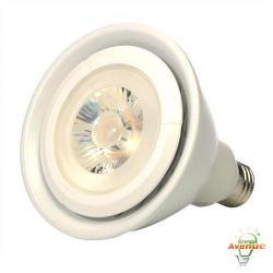Green Creative - 40702 - 19PAR38G3/830NF25/277V - LED PAR38 Narrow Flood Light - 120 Watt Halogen Equivalent -- 19 Watt - Universal Voltage - 120-277V - Medium (E26) Base - 3000K - 25&deg Beam Angle