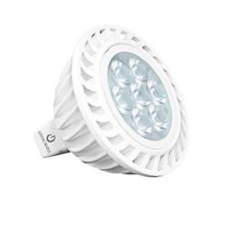 Green Creative 40809 - 7.7 Watt MR16 LED Lamp - 3000K - 75W Halogen Equal -- 7.5MR16G4DIM/930FL36 - 12V - 505 Lumens - GU5.3 Base - 92 CRI - 36 Degree Beam Angle - Dimmable - For Enclosed Fixtures
