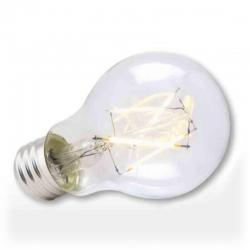 Green Creative - 57971 - 4.5FA19DIM/827/R - LED Filament Bulb -- 4.5W - 40 Watt Incandescent Equivalent - Victorian - E26 - 2700K