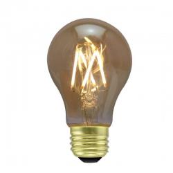 Green Creative - 57972 - 4.5FA19DIM/824/A/R - LED Filament Bulb -- 4.5W - 40 Watt Incandescent Equivalent - Victorian - E26 - 2400K - Amber - Dimmable