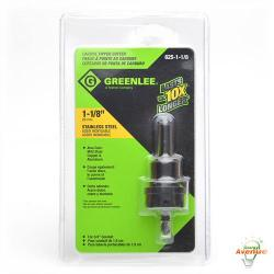 GreenLee - 625-1-1/8 - 1 1/8 Inch Carbide Tipped Hole Cutter -- For 3/4 IN Conduit