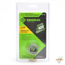 GreenLee - 645-1-1/8 - 1 1/8 Inch Quick Change Stainless Carbide Tipped Hole Cutter --  For 3/4 IN Conduit