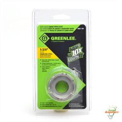 GreenLee - 645-1-3/4 - 1 3/4 Quick Change Stainless Steel Carbide Tipped Hole Cutter -- For 1-1/4 IN Conduit