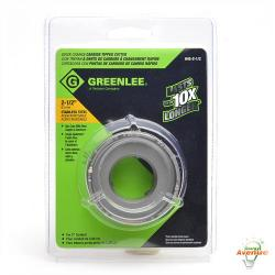 Greenlee - 645-2-1/2 - 2 1/2 inch Quick Change Carbide Tipped Hole Cutter -- For 2 Inch Conduit