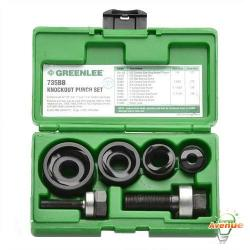 GreenLee - 735BB - Knockout Punch Kit -- 1/2 inch to 1-1/4 inch