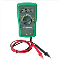 Greenlee - DM-25 - 600V AC/DC Multimeter -- 2000 Counts - Diode Test - Digital Display - 600 Voltage Rating - C/US ETL Listed, CATIII Approved