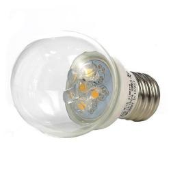 GBL Lighting - E17-S11-CLR - Warm White Globe LED