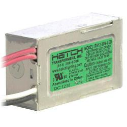 Hatch Lighting - RS12-30M-LED - A/C LED Driver -- 30 Watt - Side Leads - Dimming - 120VAC Input/12V Output