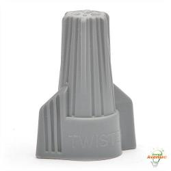 Ideal - 30-642 - Wire Connectors - Wire Range 18 - 6 AWG -- Gray - 250 Count