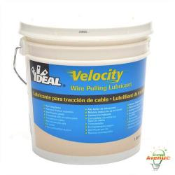 Ideal - 31-277 - Velocity Wire Pulling Lubricant -- 1 Gallon - High Cling Factor