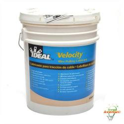 Ideal - 31-278 - Velocity Wire Pulling Lubricant -- 5 Gallons - High Cling Factor