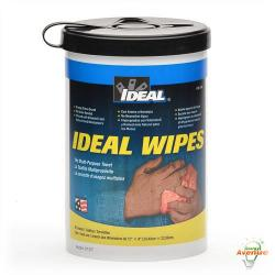 Ideal - 38-500 - Multi-Purpose Towel Wipes -- Orange Citrus - 12 Inch X 9 Inch