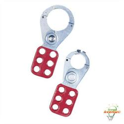Ideal - 44-800 - Safety Lockout Hasp -- 1 Inch Jaw Diameter 3-Pack