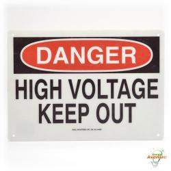 Ideal - 44-863 - 7 x 10 Inch Safety Sign