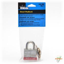 Ideal - 44-906 - Padlock 3/4 Inch Shackle -- 1 1/2 Inch Wide Lock