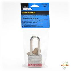 Ideal - 44-907 - Padlock 2 Inch Shackle -- 1 1/2 Inch Wide Lock