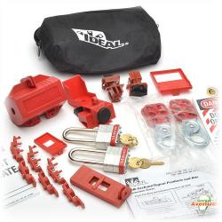 Ideal - 44-971 - Safety Lockout Kit -- 25 Pieces