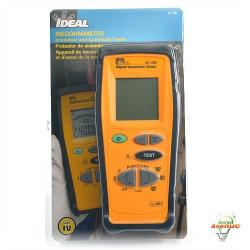 Ideal - 61-795 - Hand-held Insulation Tester -- Checks new installations for proper insulation, Checks existing installations and motor windings for breakdowns in insulation - Cat IV - 600V - 2-Year Warranty