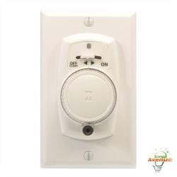 Intermatic - EJ351C - 24 Hr. Mechanical Security Timer -- 48/48 On/Off per Day - Single Pole Switch Type - White Finish