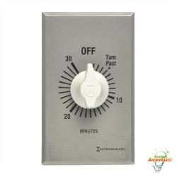Intermatic - FF30MC - 30 Minute Spring Wound Timer -- SPST - 120/240/277V - Metal Finish
