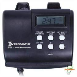 Intermatic - HB880R - Outdoor 7 Day Digital Timer -- 1000 Watts Tungsten - 120VAC - 1 Year Warranty