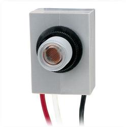 Intermatic - K4021C - Thermal-Type Photo Control -- Dusk-To-Dawn - 120V - Fixed Position Mounting