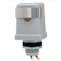 Intermatic - K4121C - Thermal-Type Photocell -- Dusk-To-Dawn - 120V -Stem Mounting