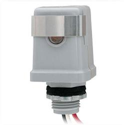 Intermatic - K4141C - Thermal-Type Photocell -- Dusk-To-Dawn - 120V -Stem Mounting