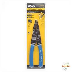 Klein Tools 1010 - Long-Nose Multi Purpose Tool - Blue Handles