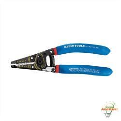 Klein Tools - 11057 - Klein-Kurve&#174 Wire Stripper / Cutter - Blue Handles