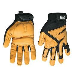 Klein Tools 40220 - Medium Journeyman Leather Gloves
