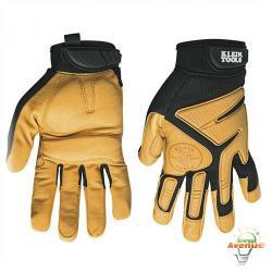 Klein Tools 40222 - Extra Large Journeyman Leather Gloves