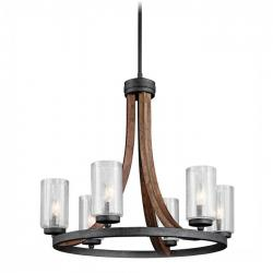 Kichler - 43193AUB - 6 Light Chandelier - 120V