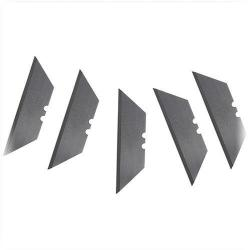 "Klein Tools - 44101 - Utility Knife Blades, 5 Pack -- Heavy Duty Razor Edged Blades - 2-7/16"" x .025"""
