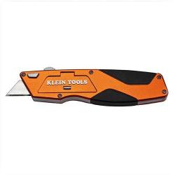 "Klein Tools - 44132 - Auto-Loading Retractable Utility Knife -- 6-1/4"" Length - Heavy Duty"