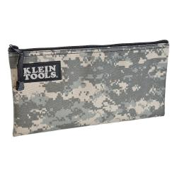 "Klein Tools - 5139 - Camouflage Cordura Zipper Bag -- Constructed of Cordura&#174 High-Performance Fabric - 12.5"" L x 7"" H"