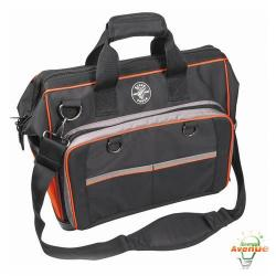 Klein - 554171814 - Tradesman Pro Extreme Organizer Electrician's Bag -- 78 Pockets - Shoulder Strap