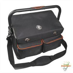 Klein Tools - 55432 - Tradesman Pro Organizer Tool Tote -- 17 Pockets - 1680d Ballistic Weave