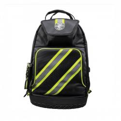 Klein Tools - 55597 - Backpack -- Tradesman Pro - High Visibility - Black